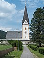 Gloednitz Pfarrkirche hl Margareta mit Wehrkirchhof 24072015 6204.jpg