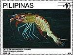 Glyphocrangon proxima 2013 stamp of the Philippines.jpg