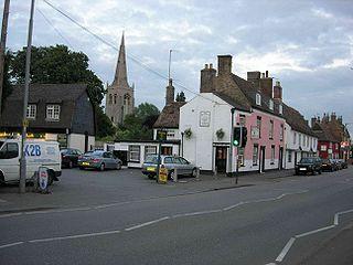 Godmanchester Human settlement in England