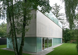 Goetz Collection architectural structure