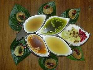 Panipuri - Image: Gol gappe (North Indian Style)