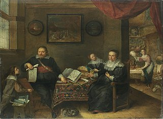 The Print Collector and His Family