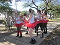 Goodchildren Easter 2012 S Roch Av Cherry Bombs Dance 4.JPG