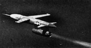 Gorgon IV target drone in flight c1952.jpg