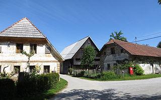 Goričice Place in Inner Carniola, Slovenia