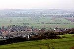 Gorsleben, Blick vom Schmückekamm zum Dorf.jpg