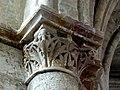 Gournay-en-Bray (76), collégiale St-Hildevert, chœur, 3e grande arcade du nord, chapiteau côté ouest.jpg