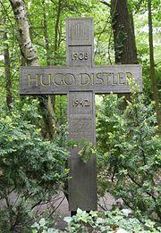 Grabkreuz Hugo Distler