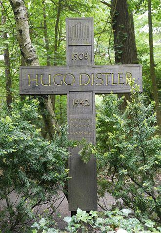 Hugo Distler - Hugo Distler's grave near Berlin