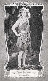 Grace Darmond - A Dangerous Adventure - Movie Stars Postcard Set.jpg