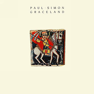 English: Front cover of the Paul Simon music a...