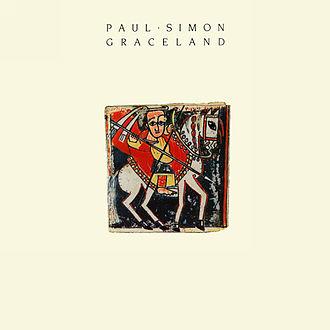 Graceland (album) - Image: Graceland cover Paul Simon