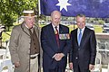 Graham Brown, General Peter Cosgrove AC MC (Ret'd) and Dr Brendan Nelson photoshoot at the Centenary of the Kangaroo March launch.jpg