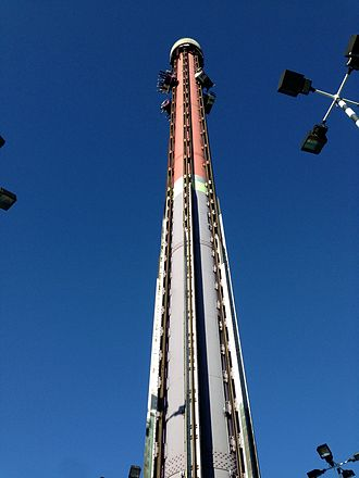 California's Great America - The Drop Tower