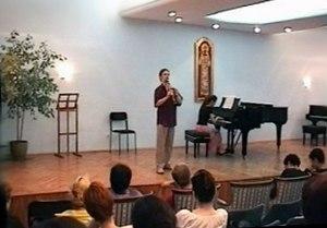 Music School Kosta Manojlovic, Zemun - Great Concert Hall of the School.
