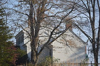 Greenfield (Charlotte Court House, Virginia) - Roadside view