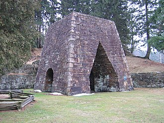 Jackson Township, Huntingdon County, Pennsylvania - Greenwood Furnace State Park is in Jackson Township
