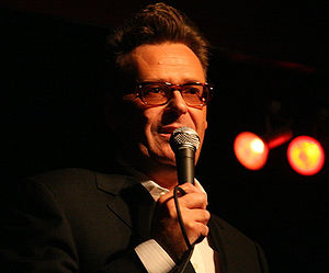 Greg Proops - Proops performing in a nightclub in November 2008