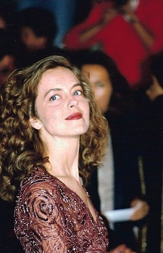 Greta Scacchi - Greta Scacchi at the 1994 Cannes Film Festival.