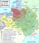 the territorial development of Lithuania during the late Middle Ages
