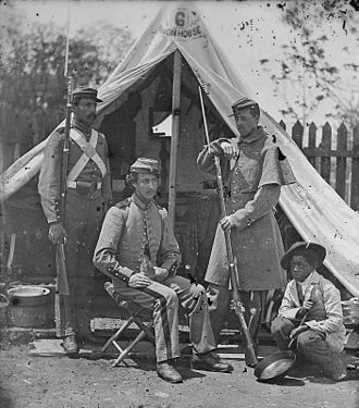 7th New York Volunteer Infantry Regiment - Group of 7th N.Y. Infantry