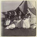 Group of nurses before a tent, Portland Hospital Wellcome L0035095.jpg