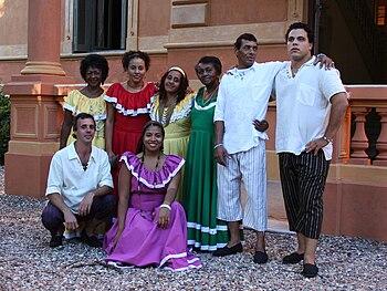 Grupo Bakongo de candombe porte%C3%B1o