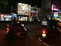 Guangfu Rd. before Main Gate of National Tsing Hua University in Hsinchu City in Night.jpg