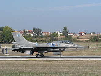 Tanagra - Greek F16 at Tanagra air base