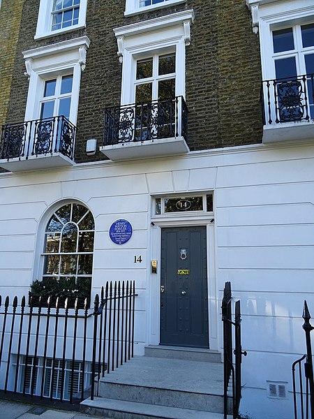 File:HENRY WATSON FOWLER - 14 Paultons Square Chelsea London SW3 5AP.jpg