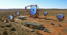 HESS II gamma ray experiment five telescope array.jpg