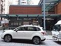 HK 西營盤 Sai Ying Pun 第二街 Second Street sidewalk carpark white vehicle MTR exit October 2018 SSG 01.jpg