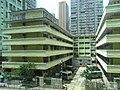 HK Chai Wan MTR Station view Factory Estate 06 facade Kut Shing Street Sept-2012 Cheung Tat Centre.JPG