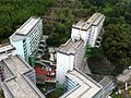 HK Kennedy Town 百年大樓 Centenary Mansion view Sai Wan Estate roof May-2014 009.JPG