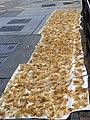 HK Sai Ying Pun Des Voeux Road West fish air 魚膠 swim bladders sun bathing Oct-2013.JPG