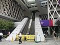 HK TKL 調景嶺 Tiu Keng Leng 香港知專設計學院 HKDI 李惠利工業學院 LWL campus June 2018 LGM escalators out of service big white elephant.jpg
