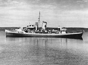 HMCS Chicoutimi (K156) - Image: HMCS Chicoutimi