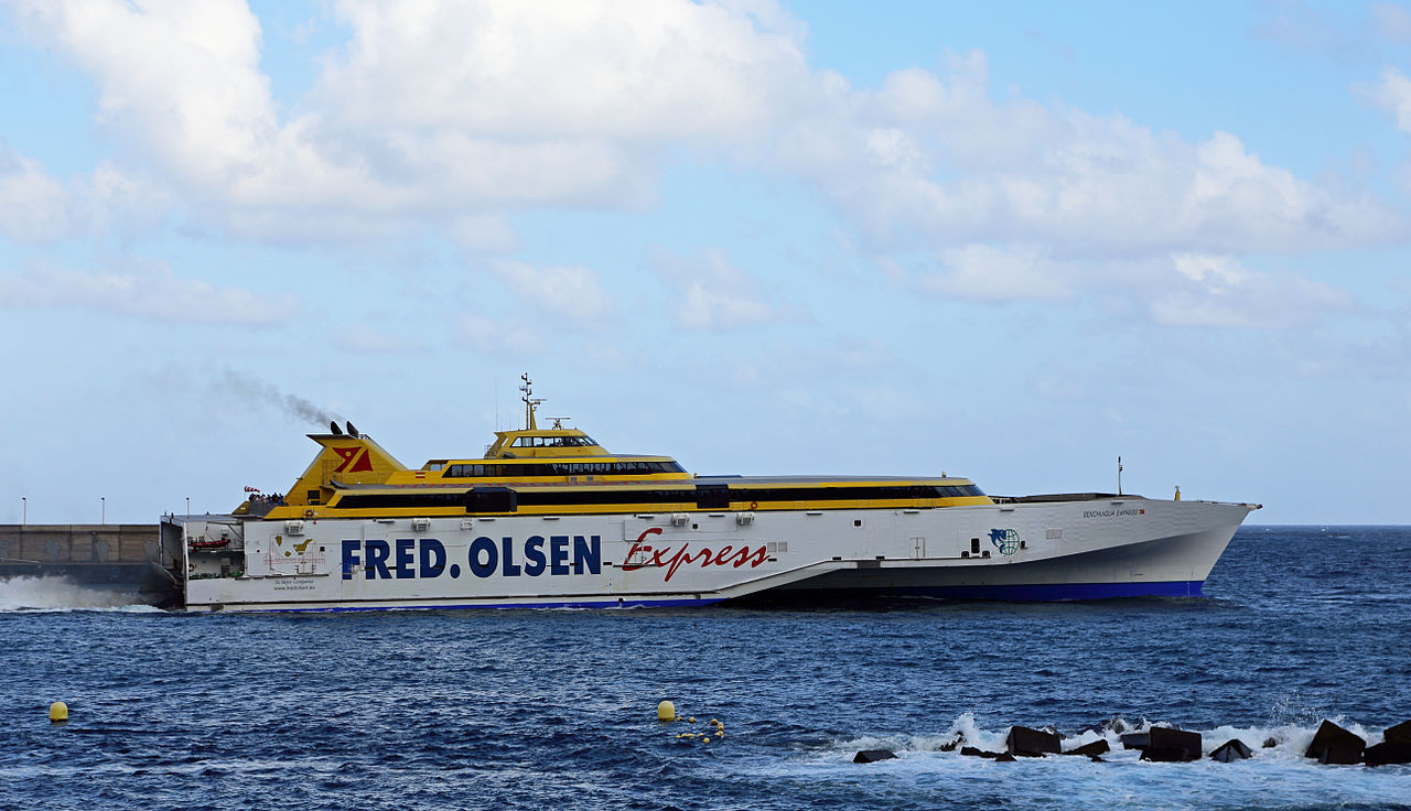 Fred Olsen Canary Islands Ferry Discount Or Code