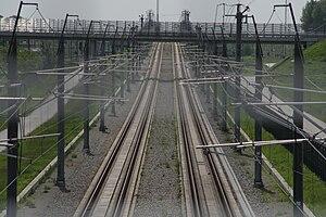 HSL-Zuid - Track near Lage Zwaluwe.