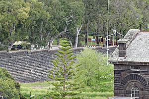 HM Prison Pentridge - Pentridge Prison H Division Front Garden 2014