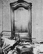 Los opositores saquearon la casa de Yrigoyen durante el golpe