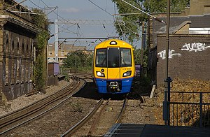 Hackney Central railway station - Image: Hackney Central railway station MMB 11 378005