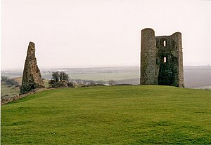 Hubert de Burgh, 1st Earl of Kent - The remains of De Burgh's castle at Hadleigh