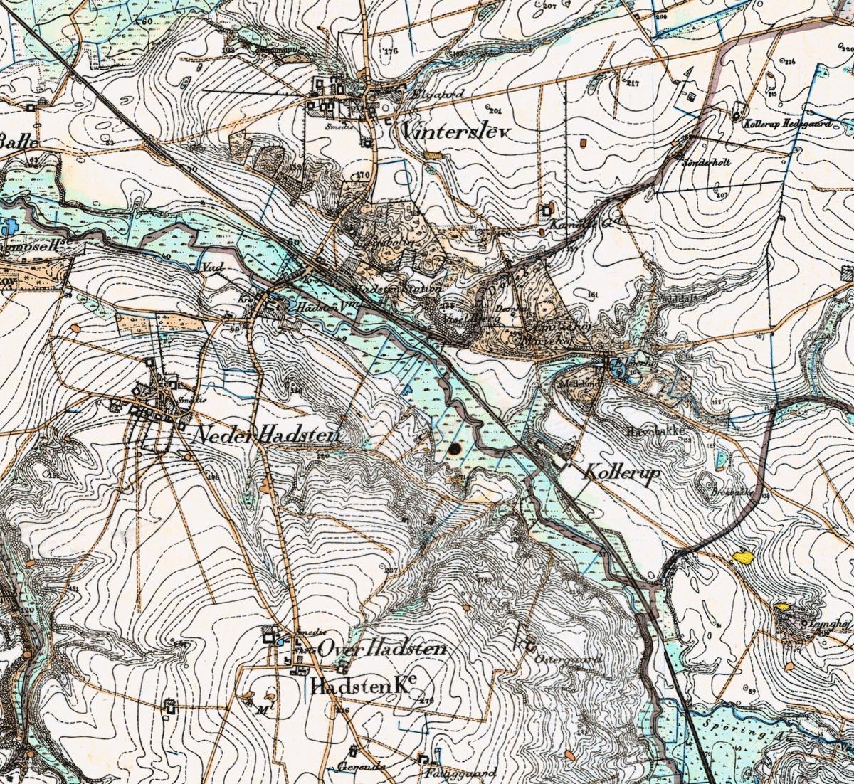 Hadstens Historie Wikipedia Den Frie Encyklopaedi