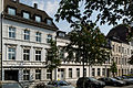 Haeuser Juergensplatz 62 bis 70 in Duesseldorf-Unterbilk, von Norden.jpg