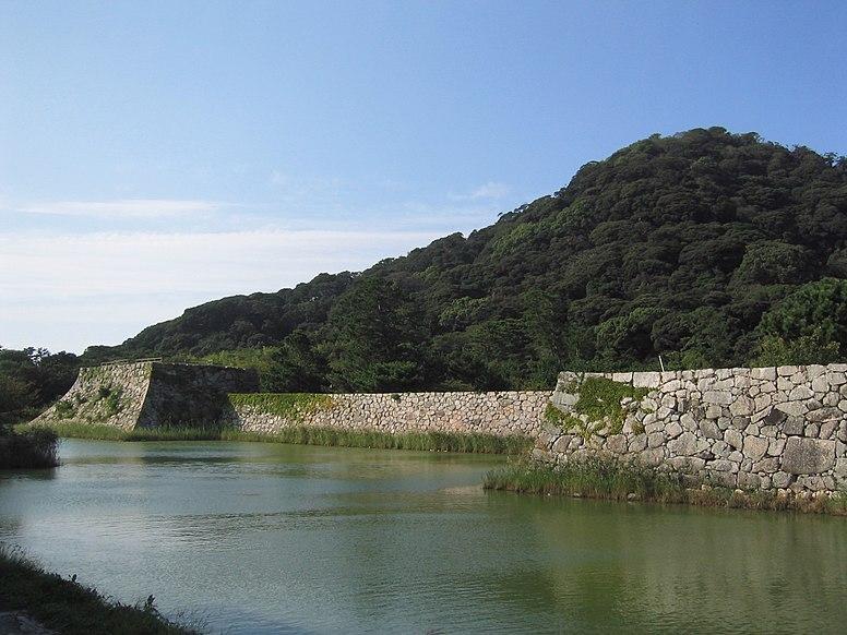 Hagi Castle -Honmaru