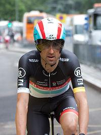 Haimar Zubeldia - Critérium du Dauphiné 2012 - Prologue (cropped).jpg
