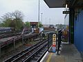Hainault station platform 3 look north2.JPG