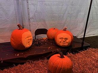 Autumn - halloween pumpkins
