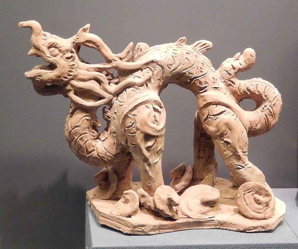 Han dragon figurine